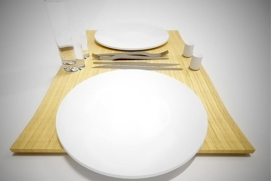 Tableware, dinner for two